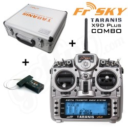Taranis X9D PLUS Transmitter incl ontvanger Mode 2
