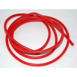AWG14 Rood Siliconen draad per meter